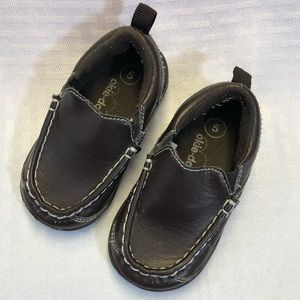 Okie Dokie Brown Toddler Loafers